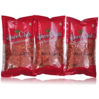 The Spice Club Chilli Flakes 100Gm Refill- (Pack Of 3)