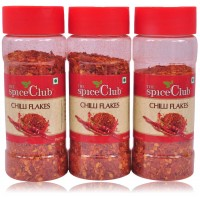 The Spice Club Chilli Flakes 60Gm Pet Jar- (Pack Of 3)