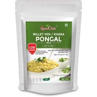The Spice Club Millet Ven/Khara Pongal Mix 500g (100% Natural, Low GI, Gluten Free & Diabetics Friendly Food) No Rice Formula
