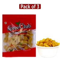 The Spice Club Pappad Fryum Potato KPCH 250g (Pack of 3) (Crunchy and Tasty, Ready to Fry)