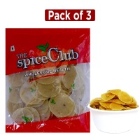 The Spice Club Pappad Fryums Cumin 250g (pack Of 3) (crunchy And Tasty, Ready To Fry)