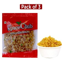 The Spice Club Pappad Fryums Potato Rings Small 250g - Pack Of 3 (crunchy And Tasty, Ready To Fry)