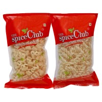 The Spice Club Pappad Fryums Roll White 250g + Pappad Fryums Twist White 250g (cruchy And Tasty, Ready To Fry)
