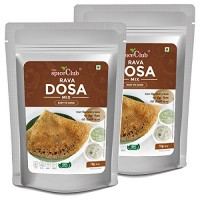The Spice Club Rava Dosa Mix - 1 Kg (Pack of 2) (Easy to Cook, 100% Natural, Traditional Dosa Mix, Breakfast Mix)