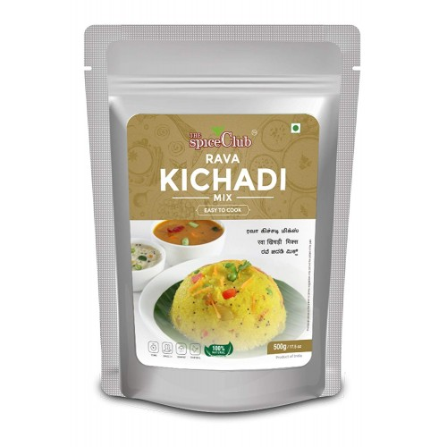 The Spice Club Rava Kichadi Mix 500g ( Easy To Cook, 100 % Natural, Traditional)