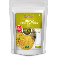 The Spice Club Thepla (Methi Chappathi) Mix 1 Kg (100% Natural, Low GI, Gluten Free & Diabetics Friendly Food)