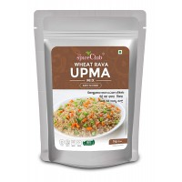 The Spice Club Wheat Rava Upma Mix 1 Kg (Easy to Cook, 100% Natural, Traditional, Instant Mix)