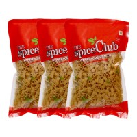 The Spice Club Pappad Fryums Potato Square Cube 250g - Pack Of 3 (crunchy And Tasty, Ready To Fry)