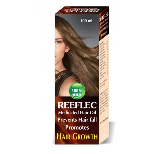 Lasky Herbal Reeflec Medicated Hair Oil For Hair Growth