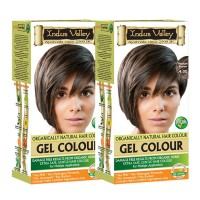Indus Valley Organically Natural Hair Color Medium Brown 4.00 Set Of 2