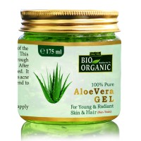 Indus Valley BIO Organic 100% Pure Aloe Vera Gel  (175 Ml)