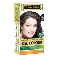 Indus Valley Natural Light Brown Gel Hair Colour