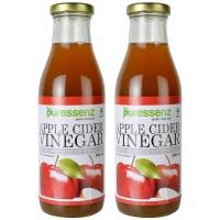 Puressenz Apple Cider Vinegar With Mother 500 ml x 2 Bottles