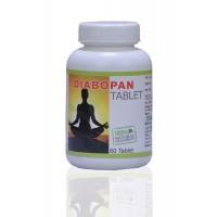Panacea Herbals Diabopan Tablets - 60 Tablets
