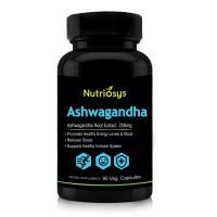 Nutriosys Ashwagandha 250mg (90 Veg Capsules)