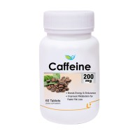 Biotrex Caffeine 200mg - 60 Tablets