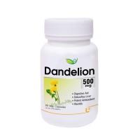 Biotrex Dandelion 500mg - 60 Veg Capsule