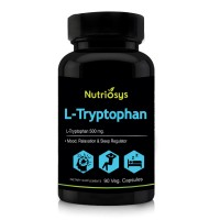 Nutriosys L-tryptophan 500mg (90 Veg Capsules)
