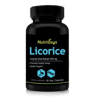 Nutriosys Licorice 450mg (90 Veg Capsules)
