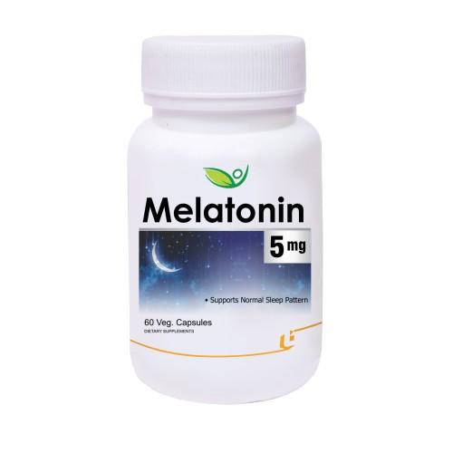 Biotrex Melatonin 5mg - 60 Veg Capsules