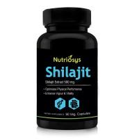 Nutriosys Shilajit 500mg (90 Veg Capsules)