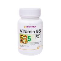 Biotrex Vitamin B5 500mg - 60 Veg Capsule