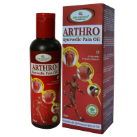Deep Ayurveda Arthro Ayurvedic Pain Oil Pack of 3 Bottles each 100ml