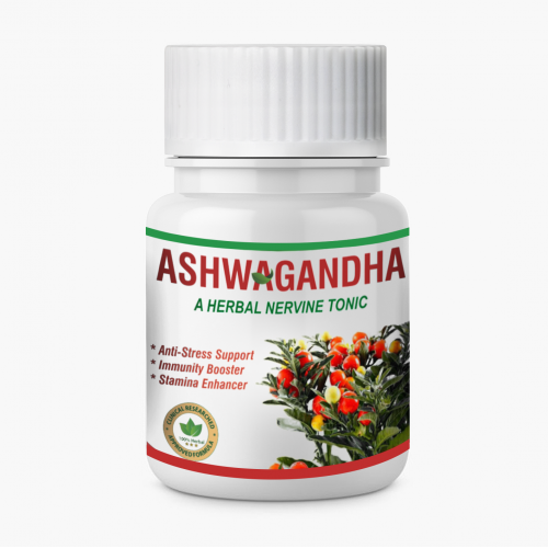ASHWAGANDHA CAPSULE | GENERAL HEALTH SUPPORT | 30 EXTRACT BASED VEG. CAPSULE