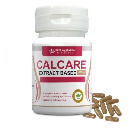Calcare (Calcium) | Natural Calcium | 30 Extract Based Veg Capsule