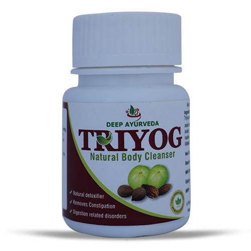 Deep Ayurveda Triyog Herbal Capsules (Triphala) Pack Of 1 Bottle 30 Cap