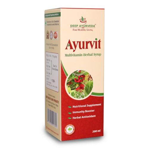 Ayurvit Multivitamin Syrup Pack Of 3 Bottles, 200ml each