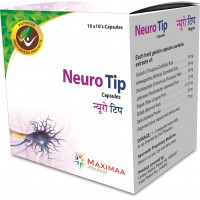 Stress Relief Tablets, 100  Ayurvedic Stress Relief capsules - Neuro Tip Capsules