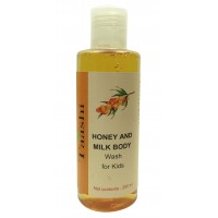 Taashi Honey & Milk Body Wash For Kids  200 ml
