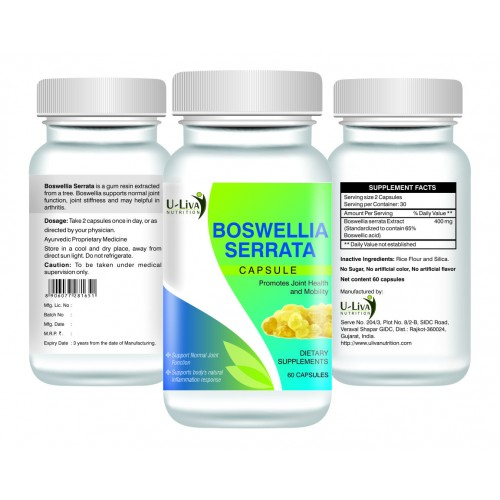 Boswellia Serrata Capsules 60