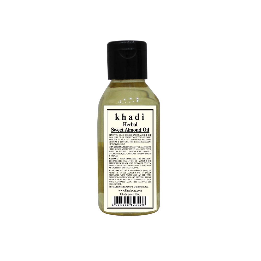 Buy Khadi Herbal Sweet Almond Oil Shophealthy In