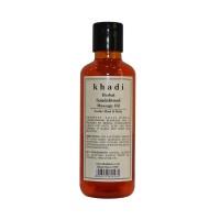 Khadi Herbal Sandalwood Massage Oil - 210ml