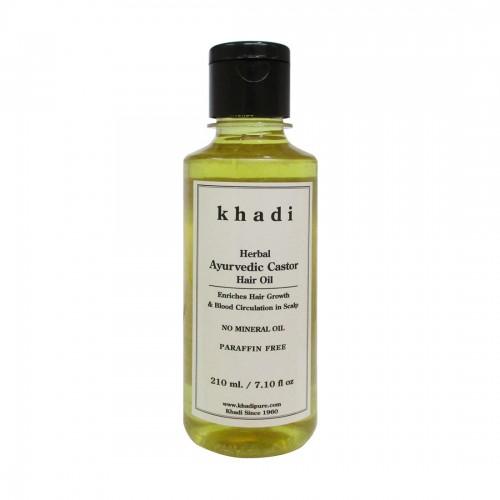 Khadi Herbal Ayurvedic Castor Hair Oil - 210ml