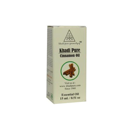 Khadi Pure Herbal Cinnamon Essential Oil - 15ml