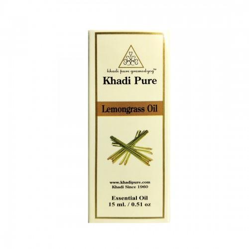 Khadi Pure Herbal Lemongrass Essential Oil - 15ml