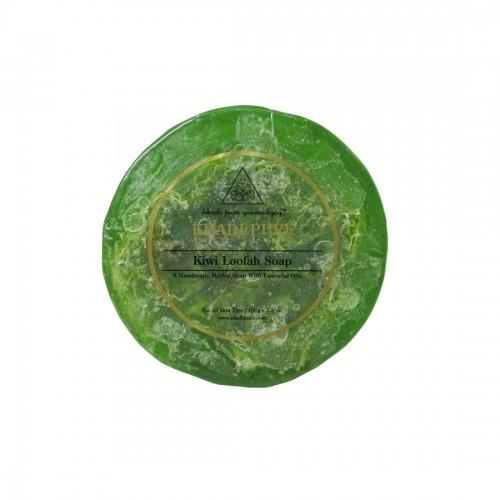 Khadi Pure Herbal Kiwi Loofah Soap - 100g