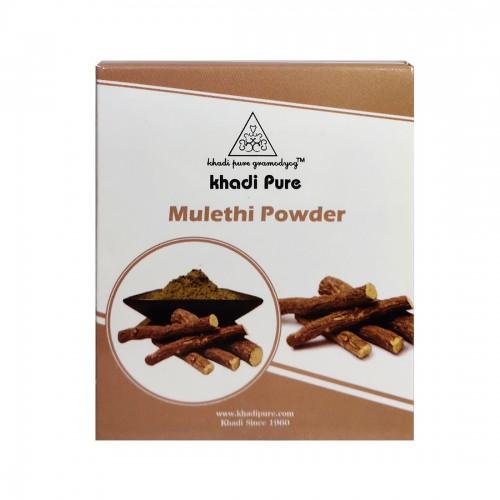 Khadi Pure Herbal Mulethi Powder - 80g