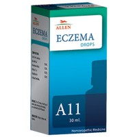 Allen A11 Eczema Drops (30ml) : For Eczema, Urticaria, Boils, Carbuncles, Acne, Pimples, Herpes and Skin Rash