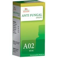 Allen A2 Anti Fungal Drops (30ml) : For Fungal Infections, Ringworm, Eczema, Dermatitis, Urticaria, Skin Rash