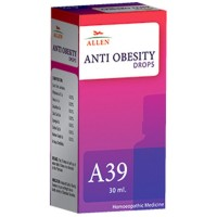 Allen A39 Anti Obesity Drops (30ml) : A Fat and Weight Manager, Helps in Weight management