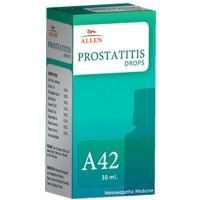 Allen A42 Prostatitis Drops (30ml) : For Dribbling, Frequent Urine, Prostatitis