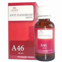 Allen A46 Anti Dandruff Drops (30ml) : For Falling of Hairs, Itching of Scalp, Dandruff, Promotes Hair Growth