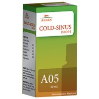 Allen A5 Cold Sinus Drops (30ml) : Running Nose, Watery Eyes, Post Nasal Dripping of Mucus, Sinusitis, Sneezing