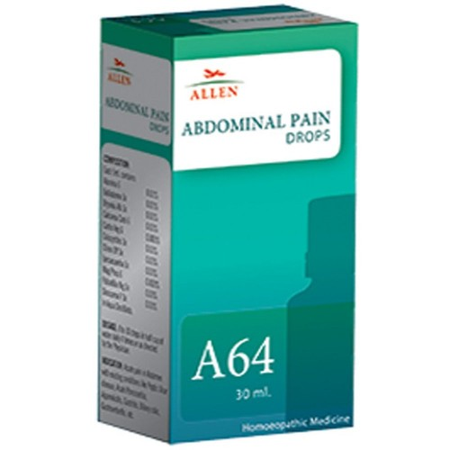 Allen A64 Abdominal Pain Drops (30ml) : Pain in Abdomen, Pancreatitis, Gastric Pains