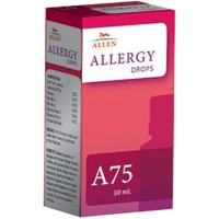 Allen A75 Allergy Drops (30ml) : Allergic Rhinitis, Mild to High Temperature, Sinusitis, Flu and Other Respiratory Infection