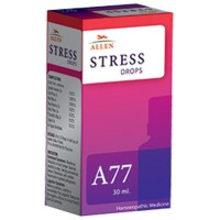 Allen A77 Stress Drops (30ml) : Irritability or Short Temper, Sense of Loneliness, Relieves Depression and Unhappiness